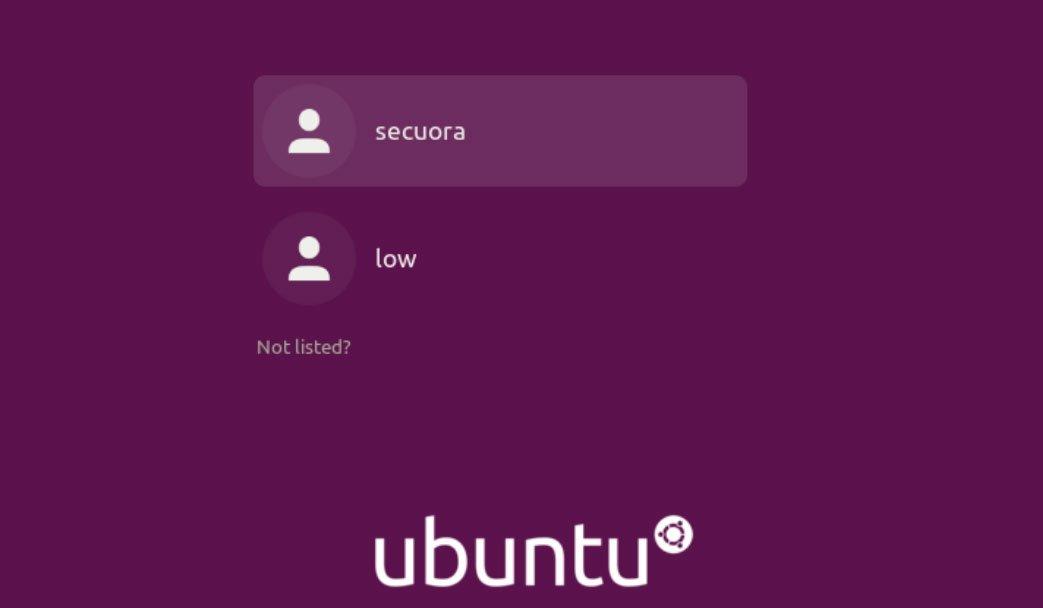 usuarios actuales sistema ubuntu captura